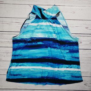 The Limited Sleeveless Mock Neck Top Size 2X